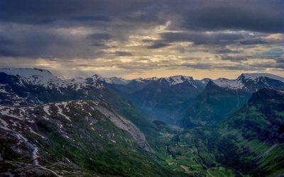 GEIRANGER vue de DALSNIBBA - Norway1998_074-2